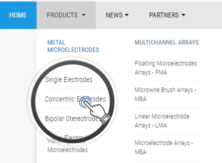 For Metal Microelectrodes